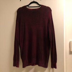 Avant Toi Painted Sweater Sz L